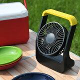 扇風機 どこでもFAN ホーム&アウトドア 卓上扇風機 SF-DF30BK ブラック デスクファン 卓上扇風機 USB 換気 熱中症対策トップランド(TOPLAND) 【送料無料】
