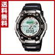 カシオ(CASIO) スポーツギア(SPORTS GEAR)腕時計 AQW-101J-1AJF 温度 ムーンデータ フィッシュタイム ストップウォッチ スプリットタイム タイマー 【送料無料】