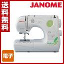 ジャノメ(JANOME) 電子ミシン Nuikiru ヌイキル N-365 【N-366 色違い品】 【送料無料】