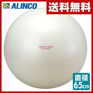 アルインコ(ALINCO) エクササイズボール(65cm) エアポンプ付 EXG025 バランスボール ヨガボール バランス運動 ストレッチ運動 【送料無料】