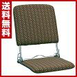 ミヤタケ(宮武製作所) 折りたたみ座椅子 YS-424(BR) ブラウン 座椅子 座いす フロアチェア チェア チェアー 椅子 1人掛け 【送料無料】