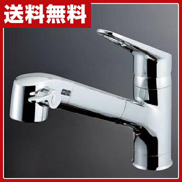 [キッチン用シングルレバー混合水栓 (一般地用)] INAX RSF-551 【送料無料】
