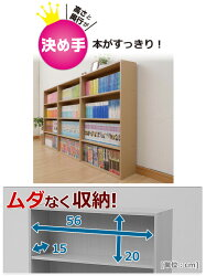 YAMAZEN(2個組)マンガぴったり本棚カラーボックスCMCR-9060*2