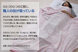 東京西川(西川産業)今治タオルタオルケット140×190cm(シングル)さらさらタイプ
