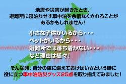 山善(YAMAZEN)防災セット車載用車中泊セット(防災グッズ25点セット)