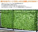 グリーンフェンス リーフラティス 約100×200cm ダブルリーフタイプ LLHW-12C/LLSW-12C グリーンフェンス 緑のカーテン フェイクグリーン ウォールグリーン 壁 ベランダ 人工 葉 緑 目隠し おしゃれ 山善 YAMAZEN 【送料無料】 3