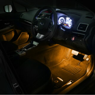 LEDフットライトキット(橙)レヴォーグ/LEVORG(VM)用