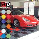 ガレージ フロアタイル [RACEDECK/レースデッキ/RACE DECK] Mパッケージ(中型車用)床 DIY ガレージ マット