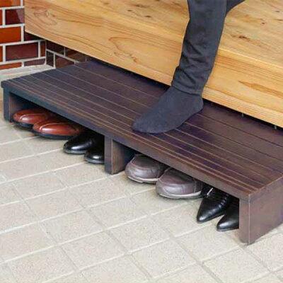 玄関床踏み台