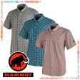 【マムート MAMMUT】 Asko Shirt Men(メンズ/半袖 ボタンシャツ)【2017年 春夏の新商品】☆お店で採寸しました☆