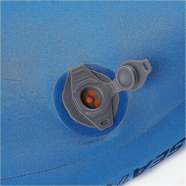 【お取寄せ】 シートゥサミット エアロプレミアムピロー トラベラー ブルー 【8月10日現在 メーカー在庫数】