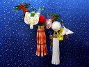 仙台七夕の吹流しを作っている紙屋さんの本物のミニチュアキット 仙台ミニ七夕【浪漫竹】キット