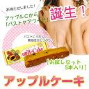 アップルCから「バストケアフード」誕生!アップルケーキTR【トライアル5本セット】送料無料【1...