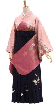 卒業式 袴 セット 購入 枝垂れ桜を揺らす春風【中古】身長約155から160cm 人気商品のため倉庫から探し出してきました