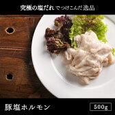 アメリカ産 豚塩ホルモン 500g(ホルモン/もつ焼き/モツ鍋/もつ/モツ/焼肉/BBQ/バーベキュー)
