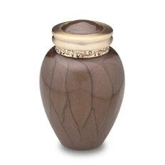 ミニ骨壷|パールブレッシング|ブラウン(真鍮製)