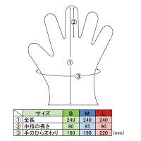 MTD4NBニトリル手袋ブルー100枚