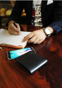 説明3|二つ折り財布財布本革メンズラウンドファスナーファスナー財布姫路レザーオイルレザーレザージッパー日本製