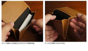 説明5|二つ折り財布財布本革メンズラウンドファスナーファスナー財布姫路レザーオイルレザーレザージッパー日本製