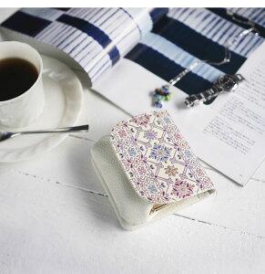 説明2がま口財布小銭入れレディースフラップ本革コンパクト日本製手染め花柄文庫革口金フラワーガーデンシリーズ