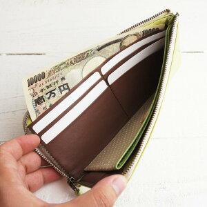 使いやすいL字ファスナー長財布「パッカパッカ キャンディーシリーズ L字ファスナー長財布」