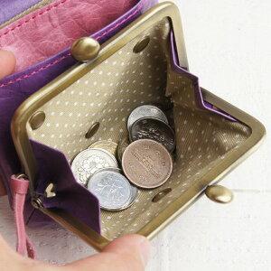内装7|フラップがま口財布paccapaccaキャンディーシリーズレディー