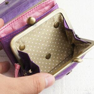 内装8|フラップがま口財布paccapaccaキャンディーシリーズレディー