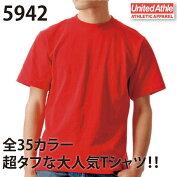 UnitedAthle(��ʥ��ƥåɥ�����)Ⱦµ̵�ϣԥ����6.2oz|���顼���ȿ��ϡ�|XS��XL|5942(̵��/�ʥ�����/��å�/�����?/���졼/���å��塼/XS/S/M/L/XL/�礭��������/��ư��/�ΰ��/������/ʸ����/�ر��/�غ�/��˥ե�����/����/����/�����?/����/��ŷ)