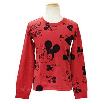 D&G ジュニア 子供服 長袖Tシャツ (ミッキーマウス) ロンT DGL5JT53RED
