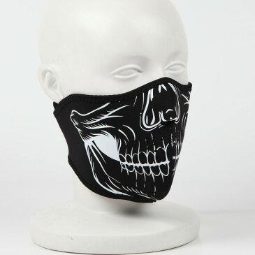ライズ(RIDEZ) ネオプレーンフェイスマスク NEO フェイスマスク RFM02 スカルホワイト02 フリー