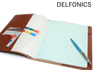 【DELFONICS/デルフォニックス】オルドナー ノートカバー B5 NC02【おしゃれな輸入 デザイン文具ならイーオフィス】【ブックカバー】【ノートカバー B5 革】