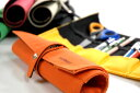 【2sp_120220_b】【DELFONICS】デルフォニックス ロールペンケース 帆布製 EN45 【ペンケー...