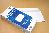 【Clairefontaine】クレールフォンテーヌ裏付封筒DLサイズ50枚