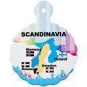 北欧鍋敷き3枚セット 【ノルウェー お土産】|鍋敷き ヨーロッパ 雑貨 北欧土産 おみやげ