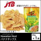 【ハワイお土産】HawaiianHost(ハワイアンホースト)|ハワイアンホーストバナナチップス1袋|ドライフルーツ【ポイント10倍&2,990円以上送料無料!】