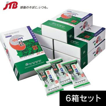 【韓国 お土産】韓国のりギフトボックス6箱セット|のり アジア 食品 韓国土産 おみやげ
