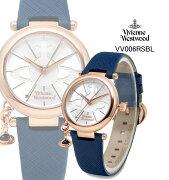 【海外正規品】VivienneWestwoodヴィヴィアンウエストウッド腕時計VV006RSBLレディース