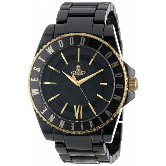 Vivienne Westwood ヴィヴィアンウエストウッド 腕時計 Ceramic VV048GDBK ユニセックス【並行輸入品】