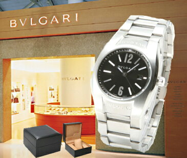 BVLGARI ブルガリ 腕時計 エルゴン ブラック EG30BSSD レディース