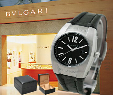 BVLGARI ブルガリ 腕時計 エルゴン ブラック EG30BSLD レディース