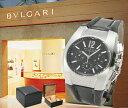 BVLGARI ブルガリ 腕時計 エルゴン クロノグラフ EG35BSLDCH ブラック ボーイズ