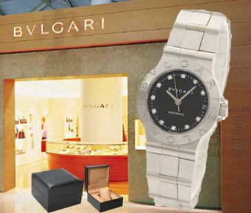 BVLGARI ブルガリ 腕時計 ディアゴノ スポーツ 11Pダイヤ LCV29BSSD/11 ブラック レディース