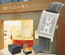 BVLGARI ブルガリ レッタンゴロ RT39SL ホワイト レディース 腕時計