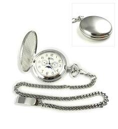 MONTRES モントレス 923 ムーンフェイス 懐中時計 ホワイト/アラビア