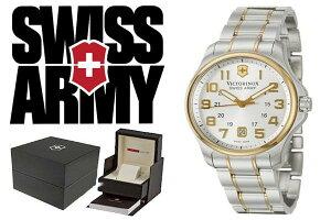 VICTORINOXビクトリノックスSWISSARMY腕時計241362コンビシルバーメンズ【smtb-k】【w3】【_包装】