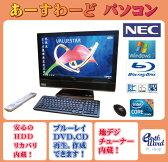 NEC デスクトップパソコン Windows7 中古パソコン デスクトップ 一体型 本体 Kingsoft Office付き Core i5 ブルーレイ 地デジ/BS/CS 4GB/1TB VW770/CS ブラック 送料無料 【中古】