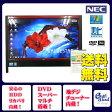NEC VN370/B Celeron P4500 Dual 1.86GHz 地上デジタル(地デジ) DVDマルチ 無線LAN 20型ワイド メモリ4GB HDD500GB 地デジ Office付属 Windows 7 中古デスク一体型パソコン レッド 【中古】