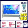 NEC デスクトップパソコン Windows7 中古パソコン デスクトップ 一体型 本体 Kingsoft Office付き Celeron DVD 地デジ 4GB/1TB VN370/E ホワイト 送料無料 【中古】