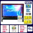 NEC VN370/ES Celeron P4600 Dual 2.0GHz 地上デジタル(地デジ) DVDマルチ 無線LAN メモリ4GB HDD1TB 20型ワイド Offce付属 Windows 7 中古デスク一体型パソコン レッド【中古】