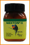 全ての鳥類の栄養補助食品ネクトンS 35g